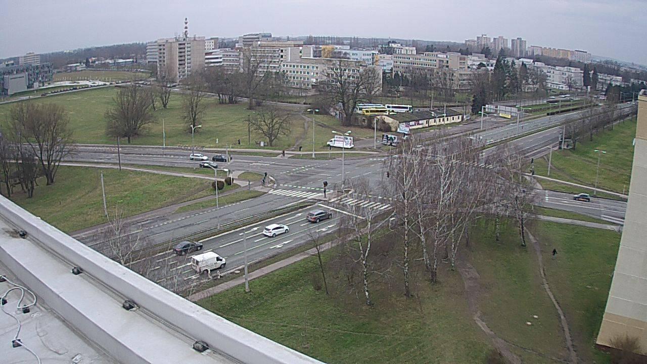 Webová kamera - křižovatka Mileta - čas 10:00