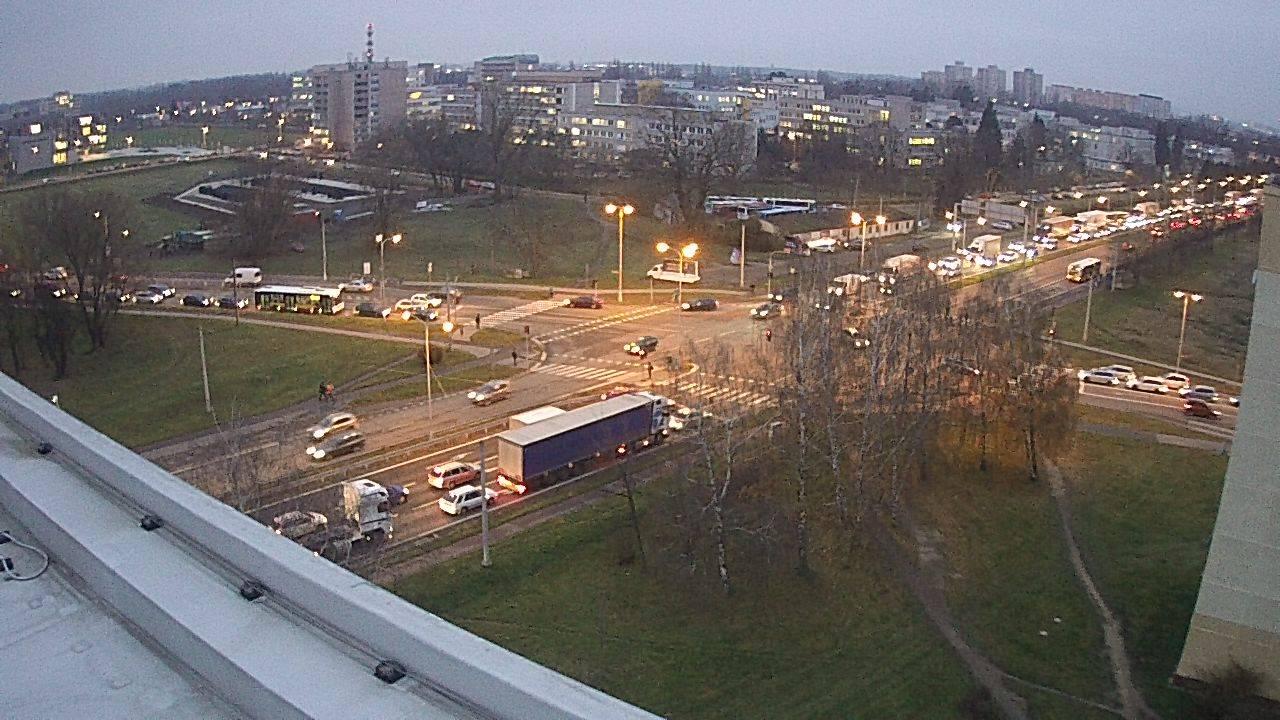 Webová kamera - křižovatka Mileta - čas 16:00