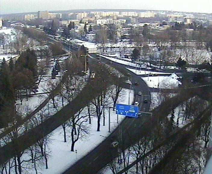 Webová kamera - Křižovatka u soutoku - čas 16:00